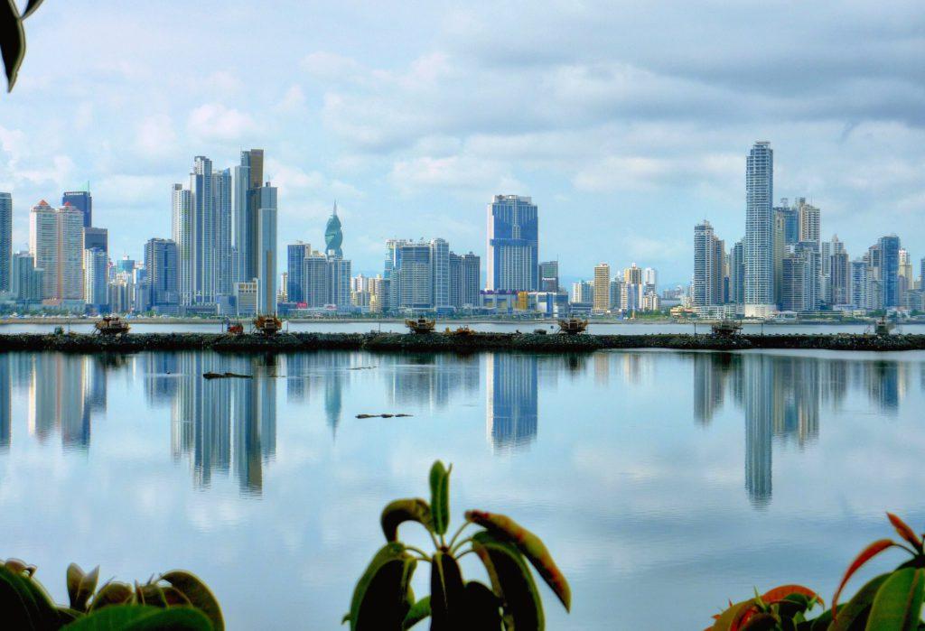 A view of Panama City Panama